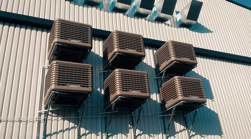 Commercial Evaporative Air Conditioning Service Repair Perth