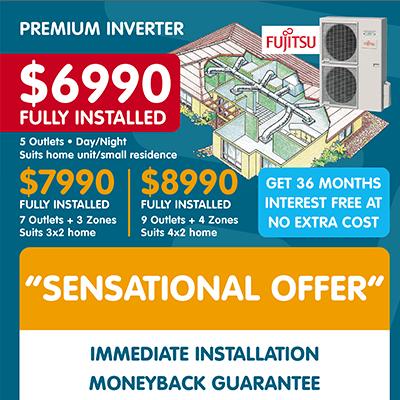 Fujitsu Air Conditioning Offers Perth
