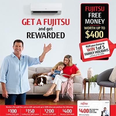 Fujitsu Cash Back Offer 2019