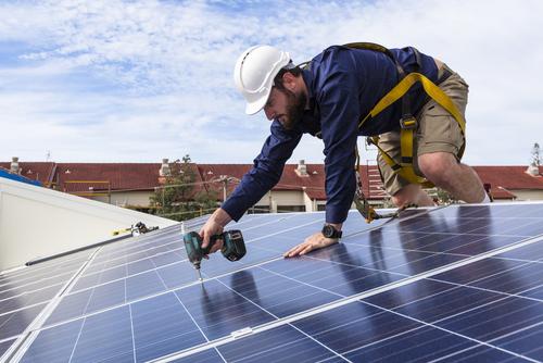 solar panel installation in Perth