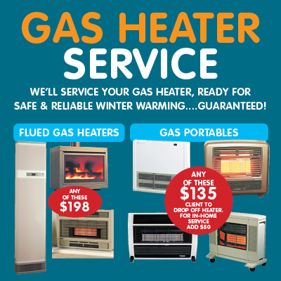 MOURITZ Gas Heater Service