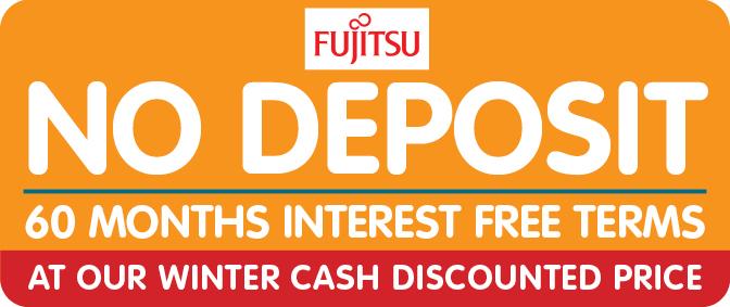 No Deposit 60 Months Interest Free Air Conditioning